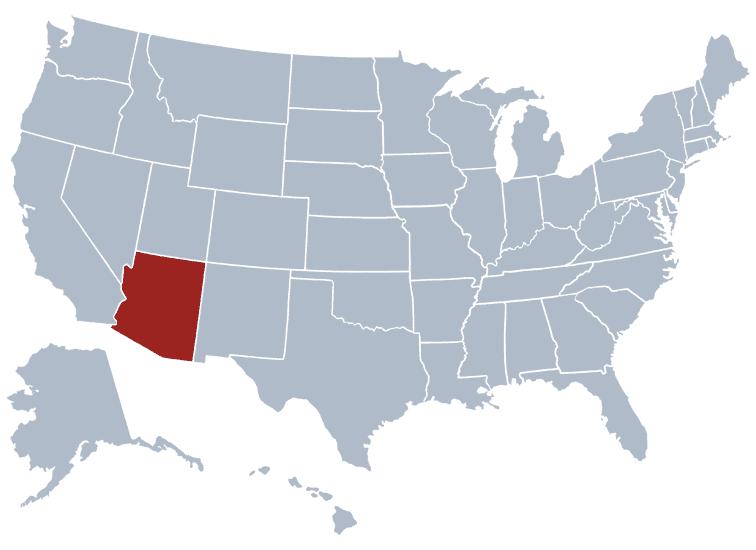 USA States Covered by Ovid Media Group-Arizona