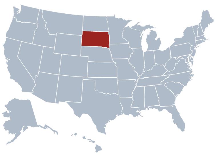 USA States Covered by Ovid Media Group- South Dakota