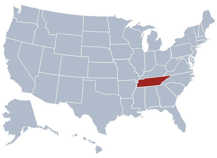 USA States Covered by Ovid Media Group- Tennessee