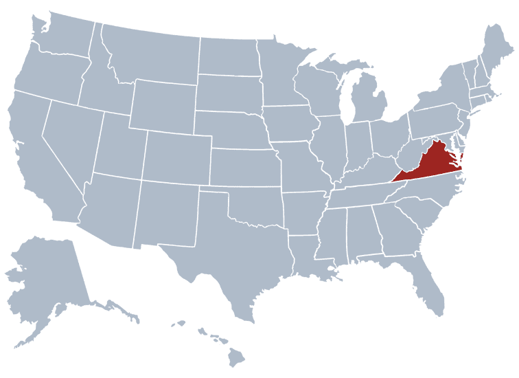 USA States Covered by Ovid Media Group- Virginia