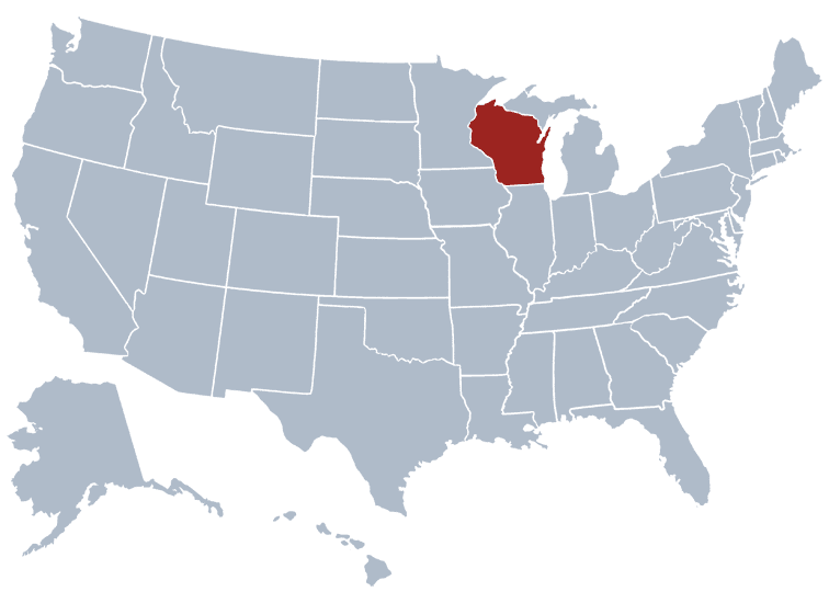 USA States Covered by Ovid Media Group- Wisconsin