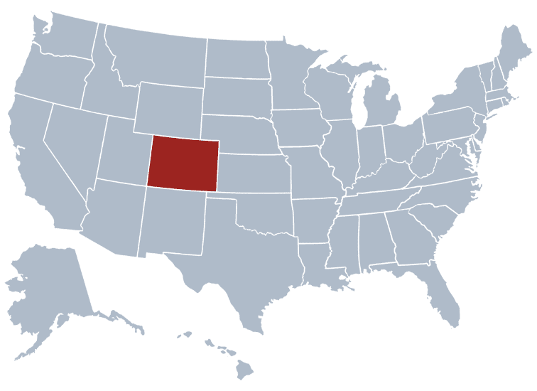 USA States Covered by Ovid Media Group-colorado