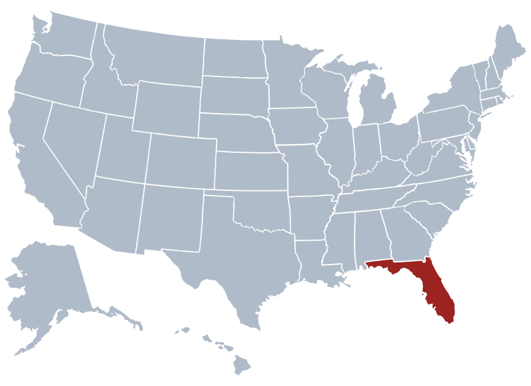 USA States Covered by Ovid Media Group-florida