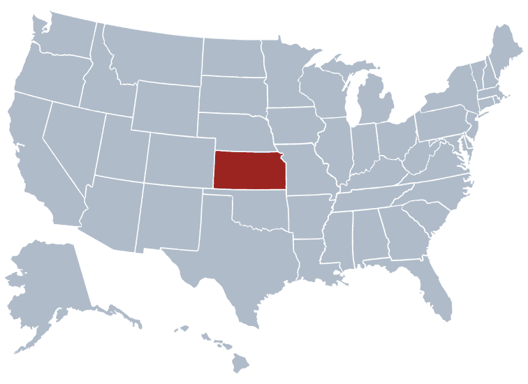 USA States Covered by Ovid Media Group-kansas