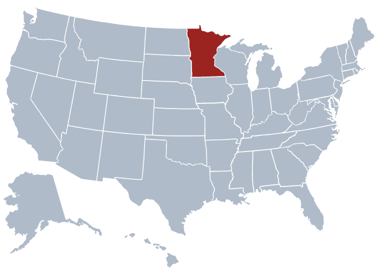 USA States Covered by Ovid Media Group-minnesota