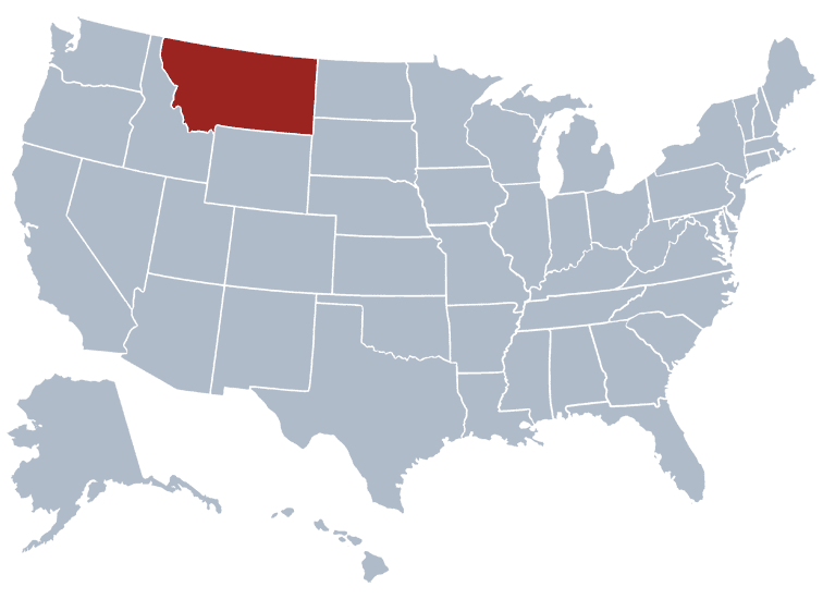 USA States Covered by Ovid Media Group-montana