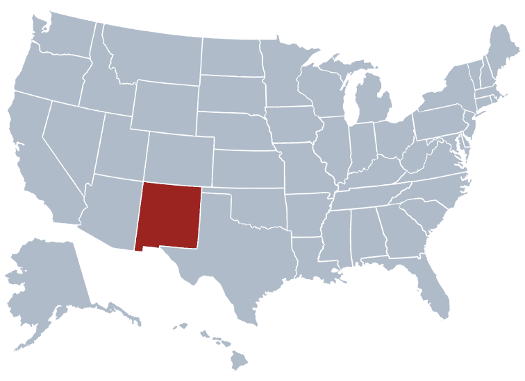 USA States Covered by Ovid Media Group-newmexico